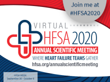 HFSA2020 Twitter Promo Graphic for Speakers